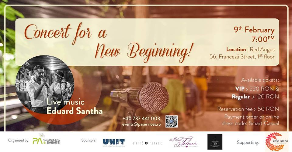 concert for a new begining